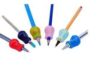 agarres para lápices
