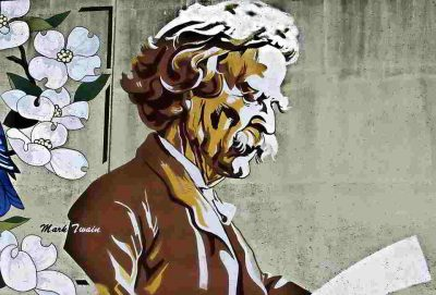 cuento zurdo de Mark Twain