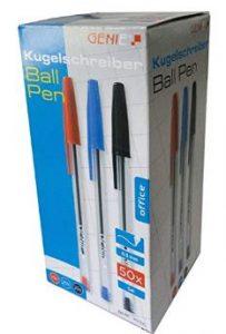Bolígrafos para zurdos